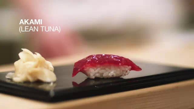 《寻访日本最顶尖的四家寿司店》