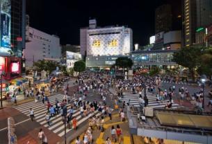 《日本时尚与流行的源头--涩谷》