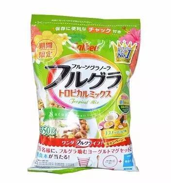 《推荐7款好吃到停不下来的日本早餐营养麦片》