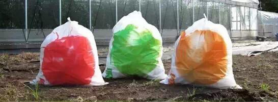 《日本垃圾袋的创意设计》