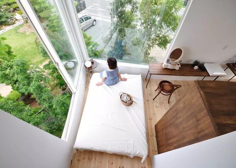 《日本的城市森林住宅,住在大森林里是真真儿极好的。》