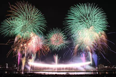 《2015年日本花火大会TOP10》