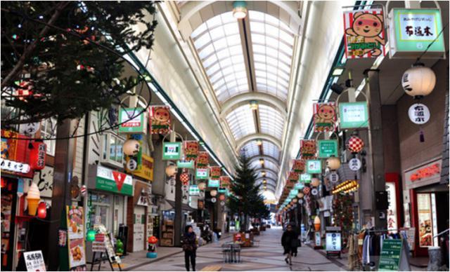 《北海道札幌狸小路商店街》