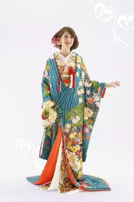 《带你好好欣赏一下日本和服!》