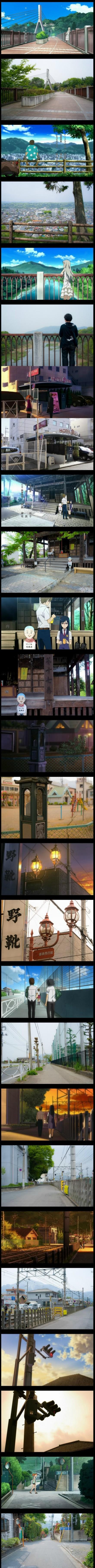 《日本那些二次元和三次元完美交叉的巡礼圣地》