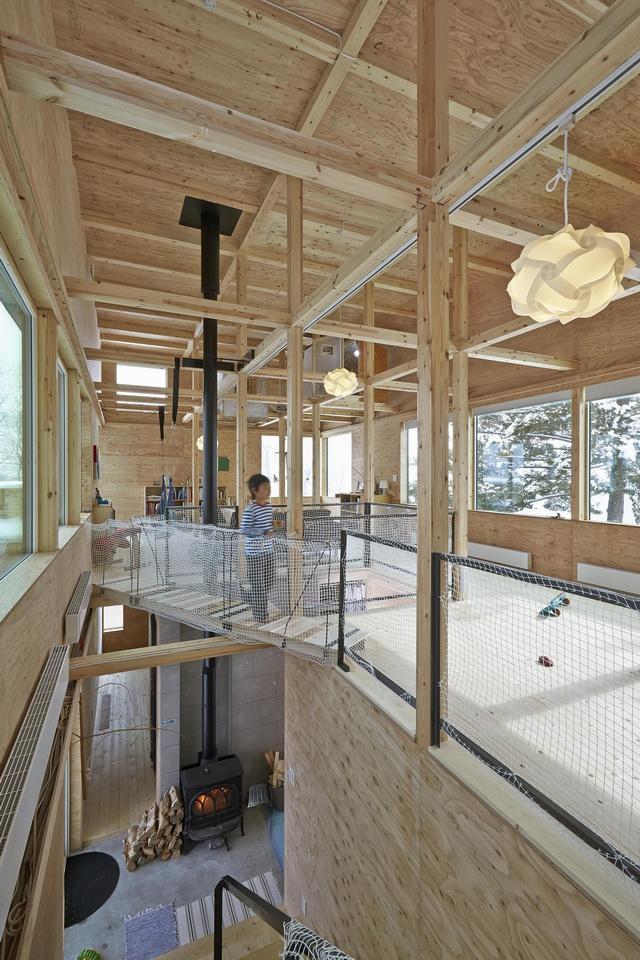 《房子里有我的鸟窝 NAKANOSAWA PROJECT BY RYO YAMADA》