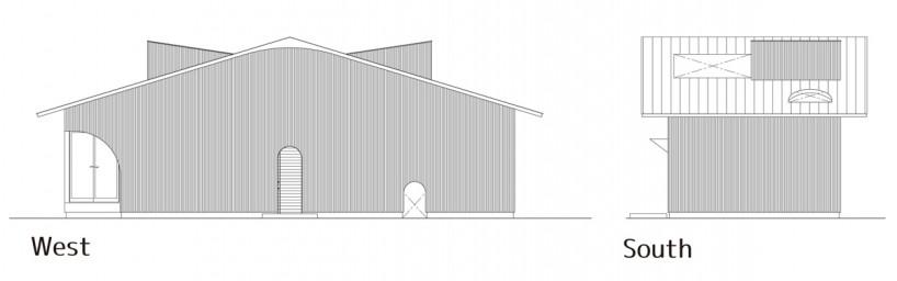 《日本山口县下松市一庭院内住宅 HOUSE IN KUDAMATSU BY CONTAINER DESIGN》