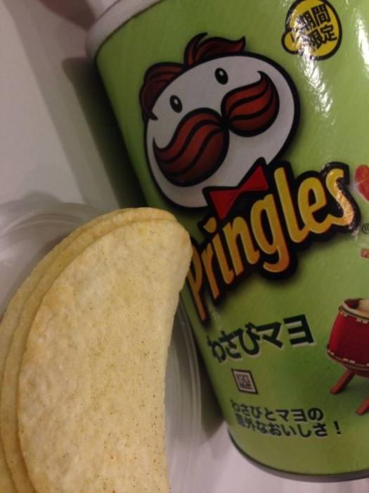 《对芥末有爱又恨的人们,来看看日本的5款最新芥末味零食。》