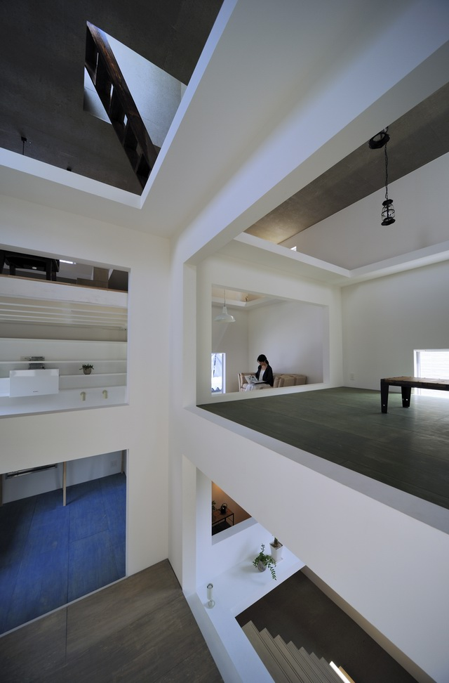 《东京T住宅 HOUSE T BY HIROYUKI SHINOZAKI ARCHITECTS 篠崎弘之》