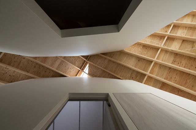 《SKYHOLE 住宅 SKYHOLE HOUSE BY ALPHAVILLE ARCHITECTS》