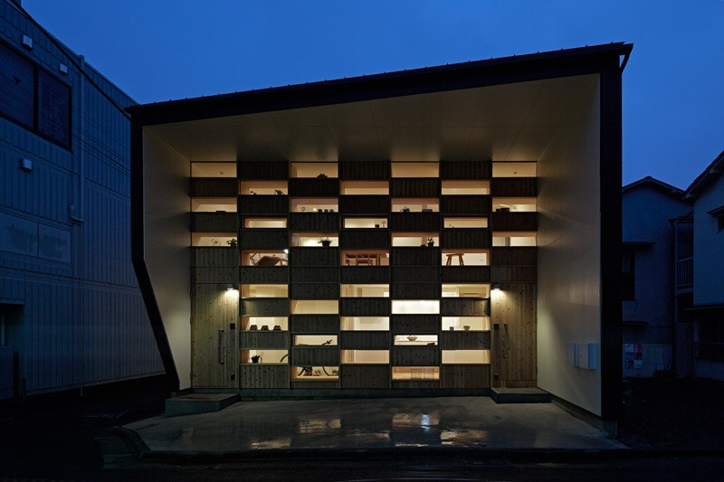 """《东京""""方格屋"""" CHECKERED HOUSE BY TAKESHI SHIKAUCHI ARCHITECT》"""