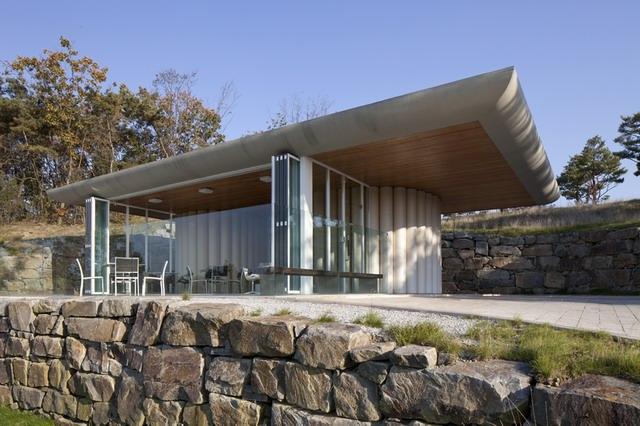 《首尔九桥高尔夫俱乐部 NINE BRIDGES COUNTRY CLUB BY SHIGERU BAN ARCHITECTS》