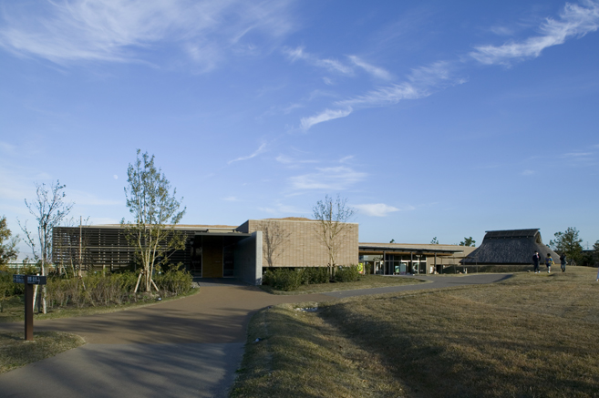 《弥生时代的遗址:吉野里历史公园》