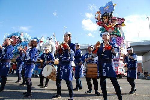 《灯笼节,弘前市》