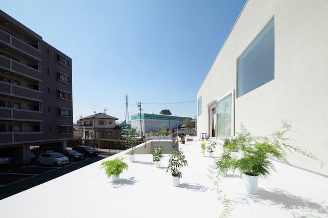 《日本爱知县可收集阳光的住宅 HOUSE IN YAMANOTE BY KATSUTOSHI SASAKI + ASSOCIATES》