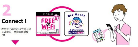 《教你分分钟开启东京14天免费WIFI服务》