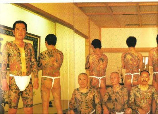 《日本黑社会为什么爱纹身?》