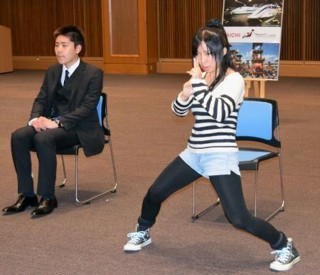 《日本爱知县举办忍者评选活动 参加者中不乏外国人》