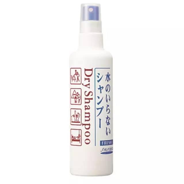 《商品说明书-资生堂免洗洗发喷雾》