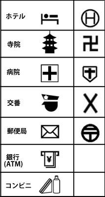 《日本难懂的地图标识要改版?》