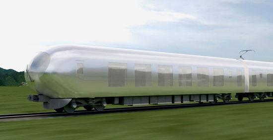 """《""""融入城市、自然风光的特急""""隐形列车预计2018年引入》"""