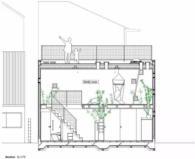 《东京镂空小方块房子-建筑师:Takeshi Hosaka》