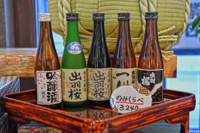"""《这里是日本最棒的日本酒之一""""出羽樱""""的产地》"""