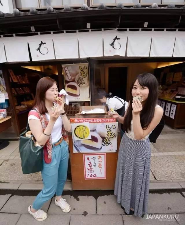 《这是一家有点儿历史的红薯点心店!小江户川越美食推荐!》