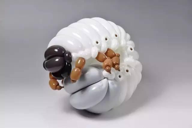 《日本人Masayoshi Matsumoto把气球玩出新花样》