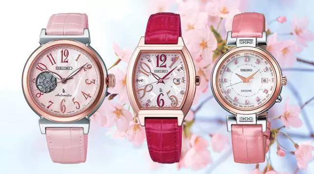 《这块樱花表,满足了所有樱花粉的梦想》