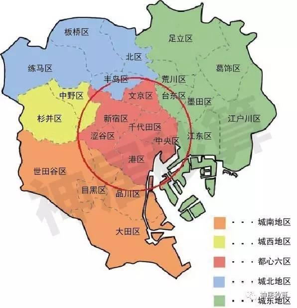 """《""""东京""""、""""东京都""""、""""东京都市圈""""到底有什么区别?》"""