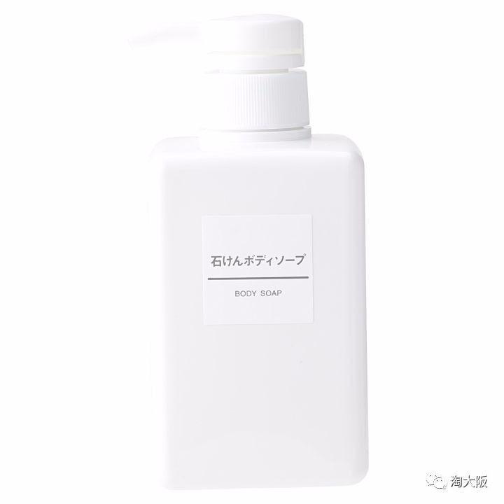 《MUJI无印良品 植物皂质润肤沐浴乳 400ml》