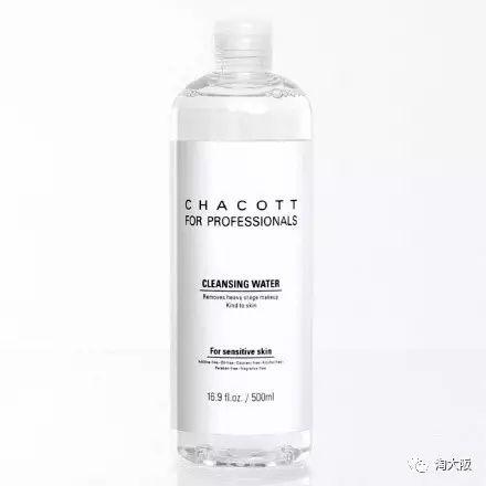 《CHACOTT 温和保湿卸妆水 500ml》